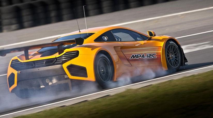 McLaren MP4-12C GT3 (2011) track testing begins | CAR Magazine