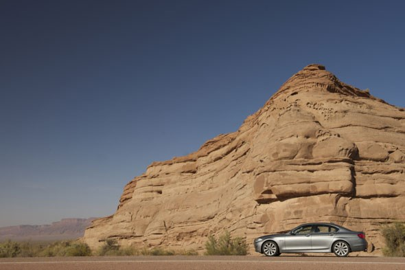BMW 5-series to Argentina