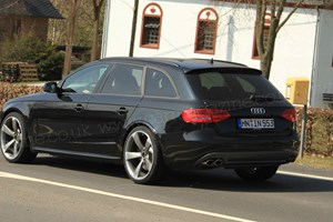 Audi RS4 Avant (2012) spy pictures