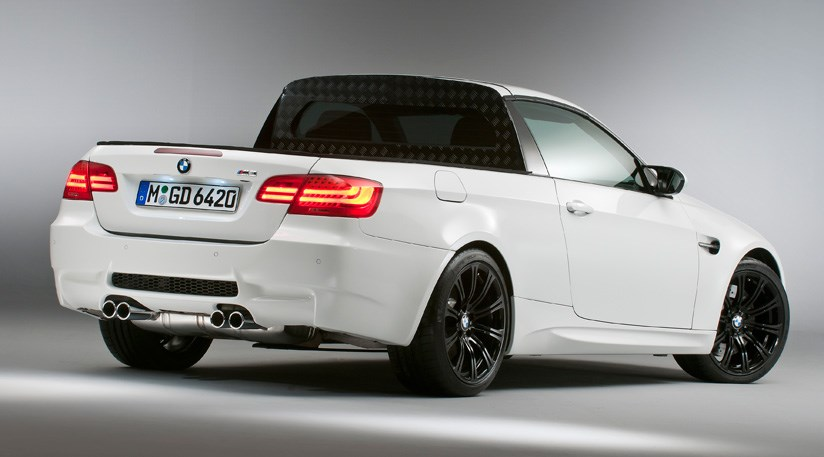 Bmw M3 Pick Up 2011 First Official Pictures Car Magazine