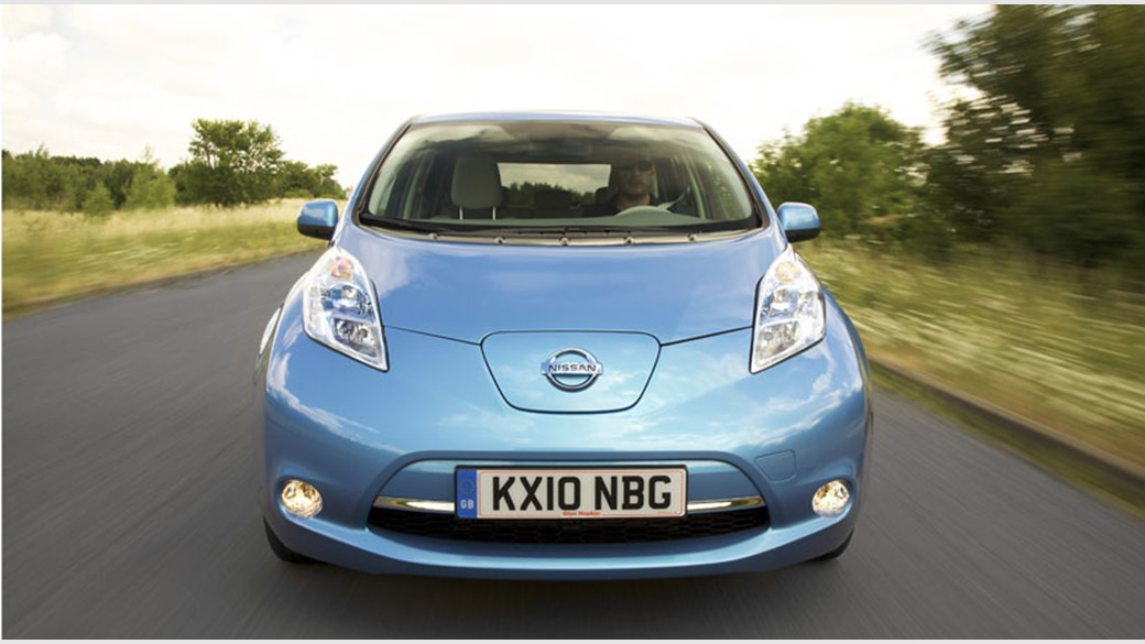 Nissan Leaf Electric Car 2011 Review Car Magazine