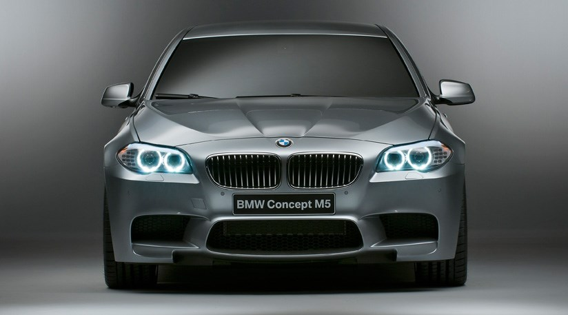 BMW Concept M5 (2011) first official pictures by CAR Magazine