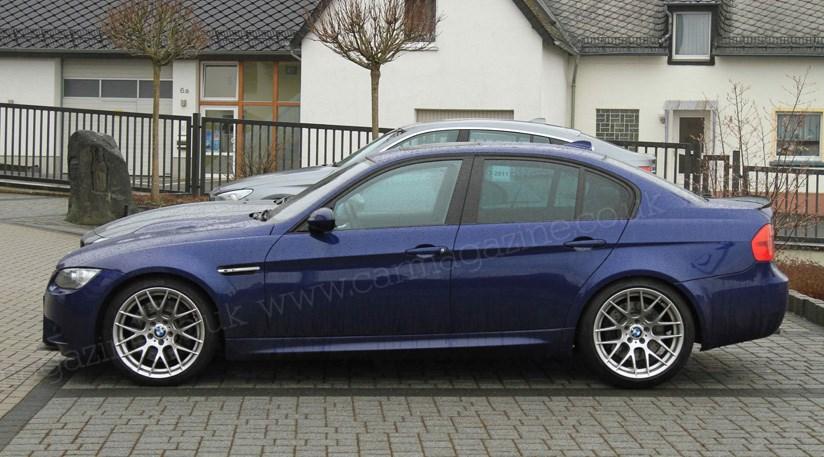 BMW M3 GT (2011) spy photos by CAR Magazine