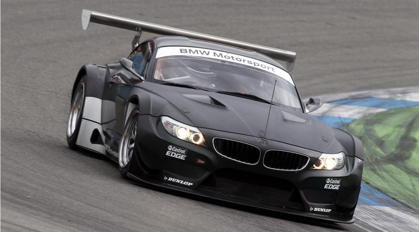 BMW Z4 GT3 (2011) completes testing by CAR Magazine