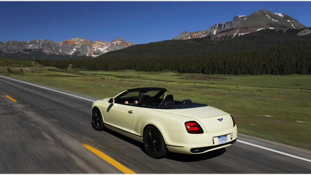 Bentley Continental Supersports Convertible 2011 Review Car Magazine