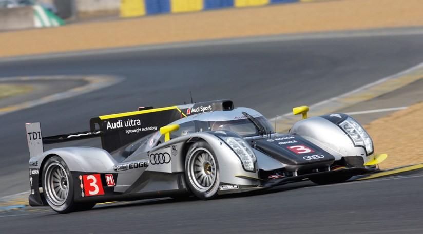 Audi R18 Tdi Dominates Le Mans 2011 Test Day By Car Magazine
