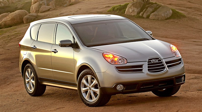 Remembering the underdogs the 2006 subaru tribeca car for Mercedes benz b9 service
