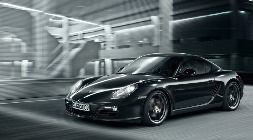 Porsche cayman s black