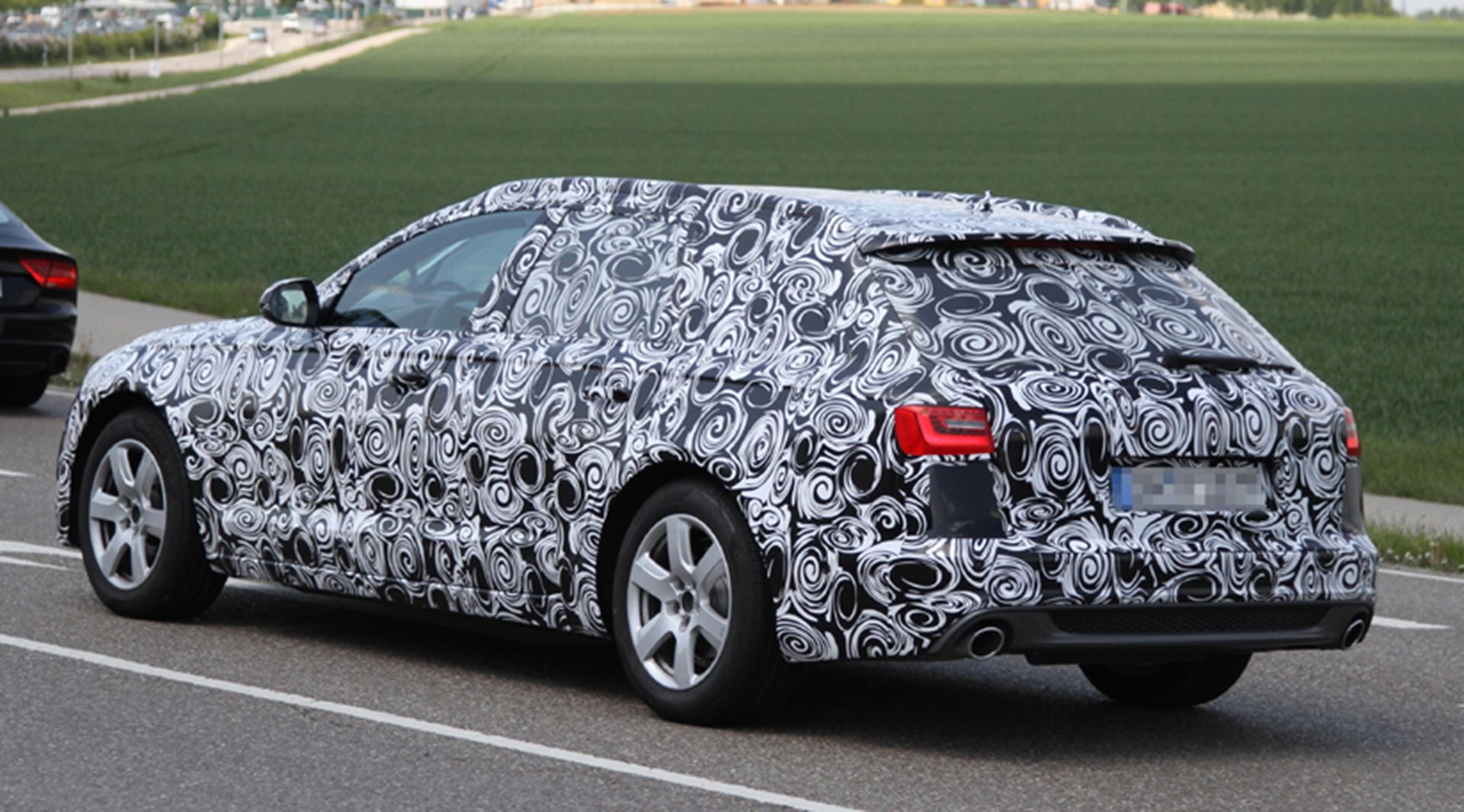 Audi A6 Avant 2011 Spy Shots By Car Magazine