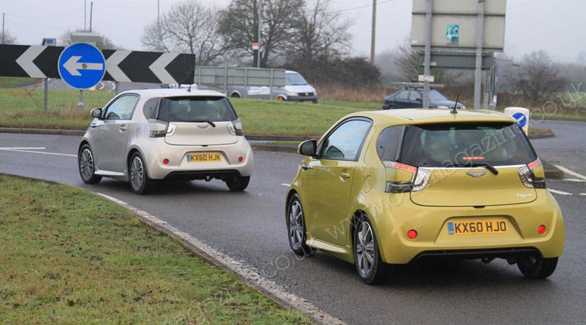 Aston Martin Is Preparing An Electric Drive Version Of The Cygnet City Car  ...