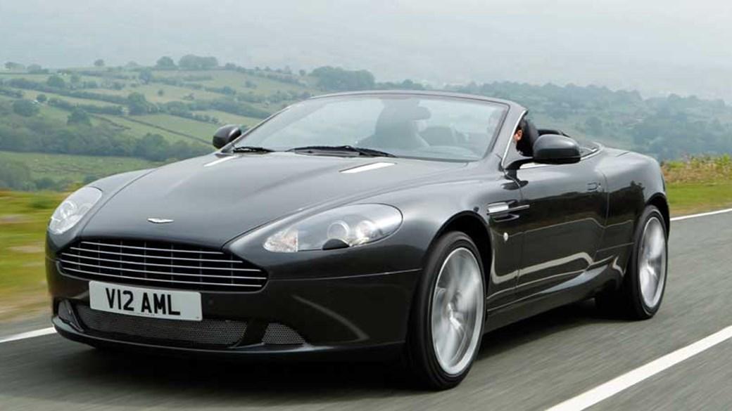 Aston Martin DB9 Volante (2011) Review