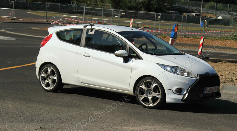Ford Fiesta St 2012 Auto Spy Shots Spy Shots Of Latest Car