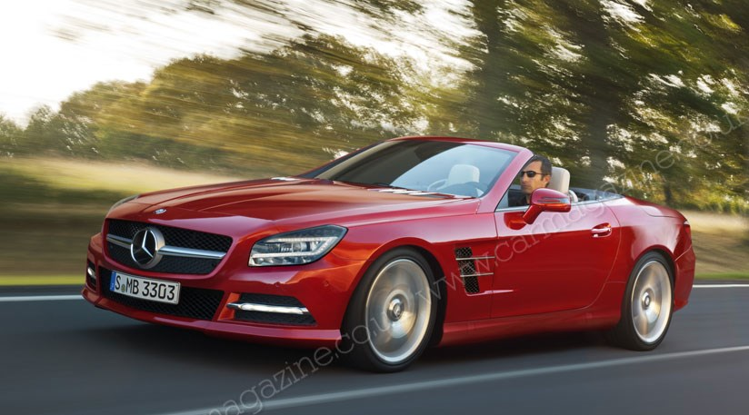 Mercedes Sl 2012 The New R231 Scoop By Car Magazine