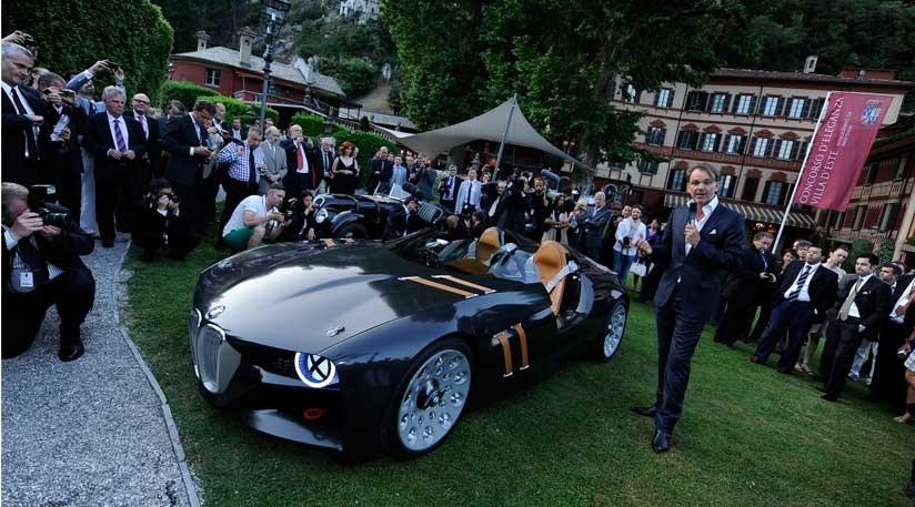 BMW 328 Hommage (2011) revealed at Villa d\'Este   CAR Magazine