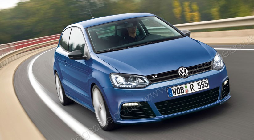 vw polo r 2013 the extra strong polo by car magazine. Black Bedroom Furniture Sets. Home Design Ideas