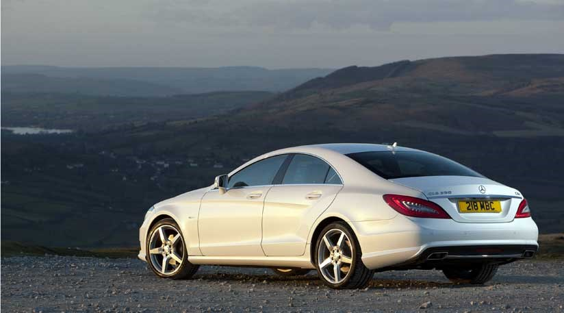 mercedes cls350 cdi blueefficiency 2011 review by car magazine. Black Bedroom Furniture Sets. Home Design Ideas