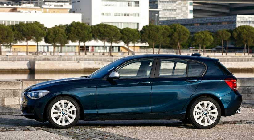 bmw 1 series hatchback 2011 first official pictures by car magazine. Black Bedroom Furniture Sets. Home Design Ideas