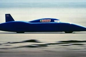 Bluebird land speed record in an electric car
