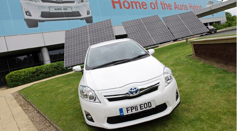 17 000 solar panels to power toyota s derbyshire plant by car magazine. Black Bedroom Furniture Sets. Home Design Ideas