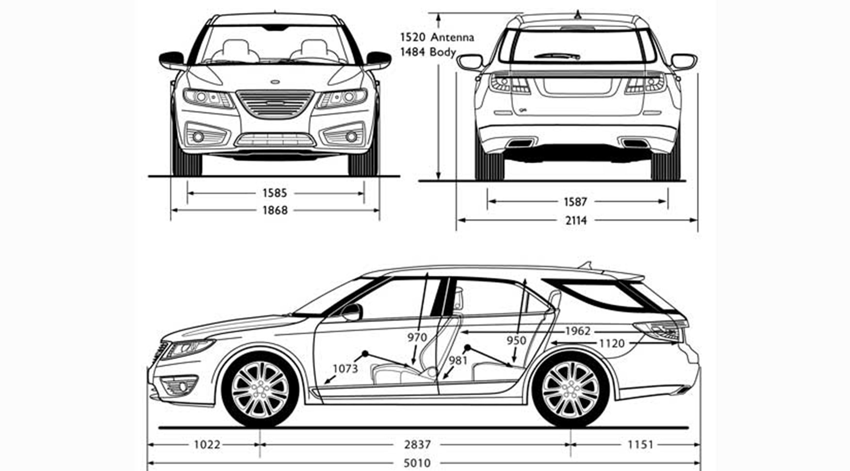 Saab 9-5 Sportwagon (2011) pre-production review by CAR