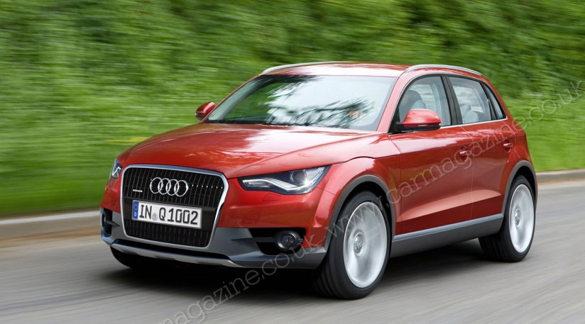 Audi Q The Plan For Audis Baby SUV CAR Magazine - Audi q1