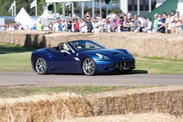Ferrari California at Goodwood 2011