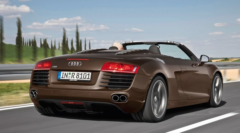 Audi R8 V8 Spyder (2011) review | CAR Magazine