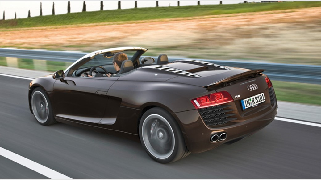Audi R8 V8 Spyder 2017 Review