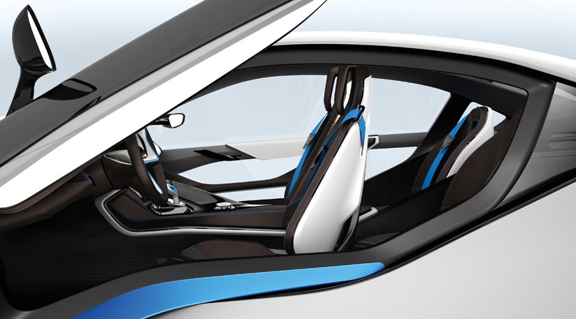 BMW i8 Concept (2011) first official pictures by CAR Magazine