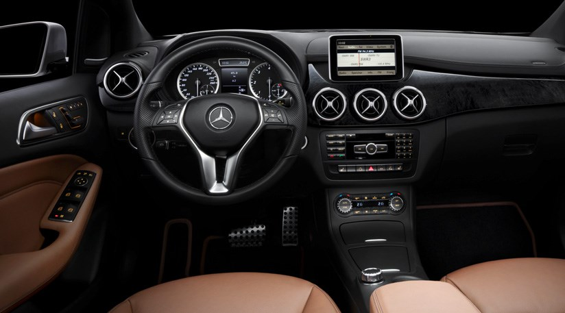 Mercedes B Class 2012 The First Look Inside By Car Magazine