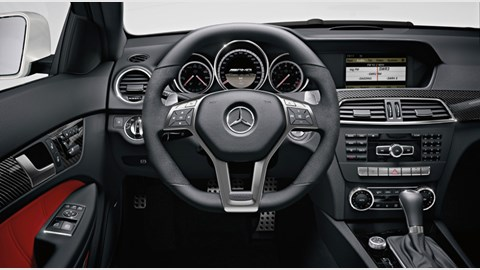 Mercedes C63 AMG Coupe Black Series (2012) review by CAR Magazine