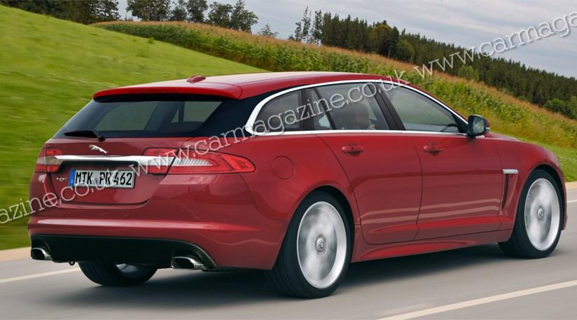 Jaguar XF Estate (2012) scooped | CAR Magazine