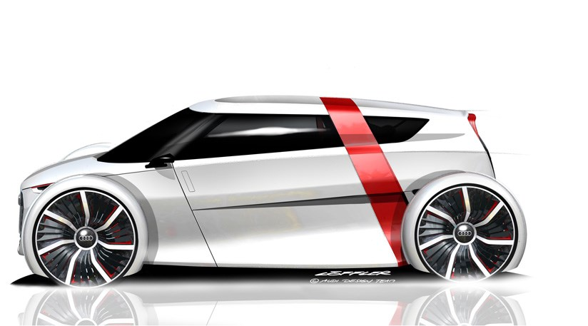 Audi Urban Concept 2011 The First Sketches Car Magazine