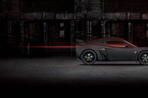 Lotus Exige Matte Black edition. For submariners only