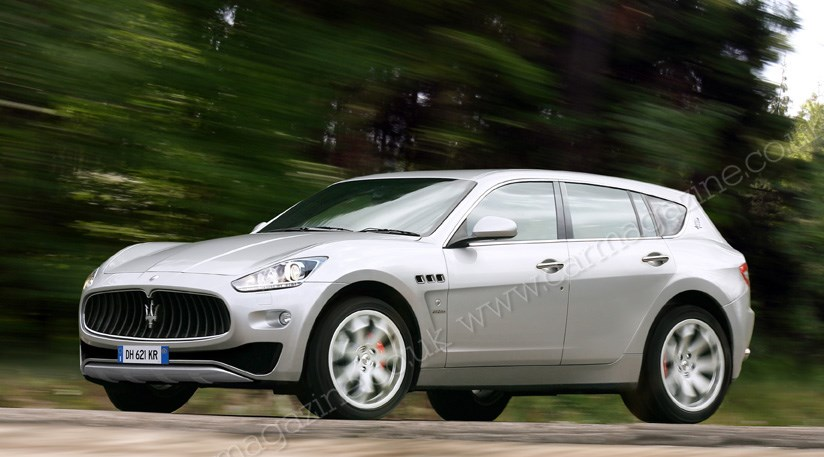 Maserati Suv 2013 Car Scoops The Maser 4x4 By Car Magazine