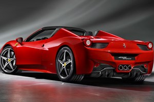 The new Ferrari 458 Spider: first photographs