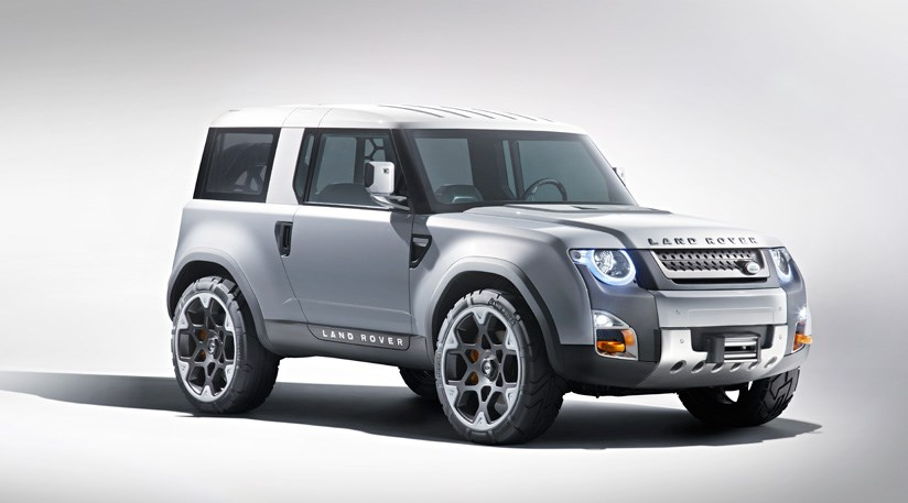 Land Rover DC100 concept (2011) - it's the new Defender ...