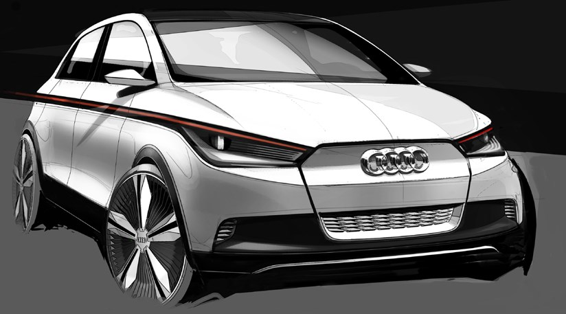 Audi A2 Concept 2011 First Official Sketches Car Magazine