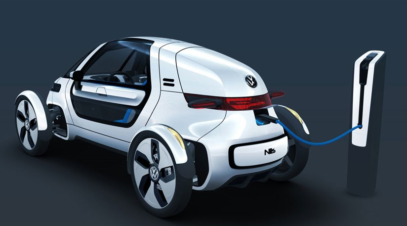 VWs New Single Seater Electric Car Concept See The VW Nils At 2011 Frankfurt Motor Show