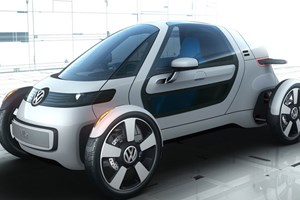 VW's new single-seater electric car concept
