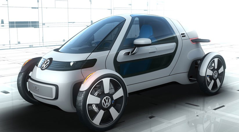 Vw S New Single Seater Electric Car Concept