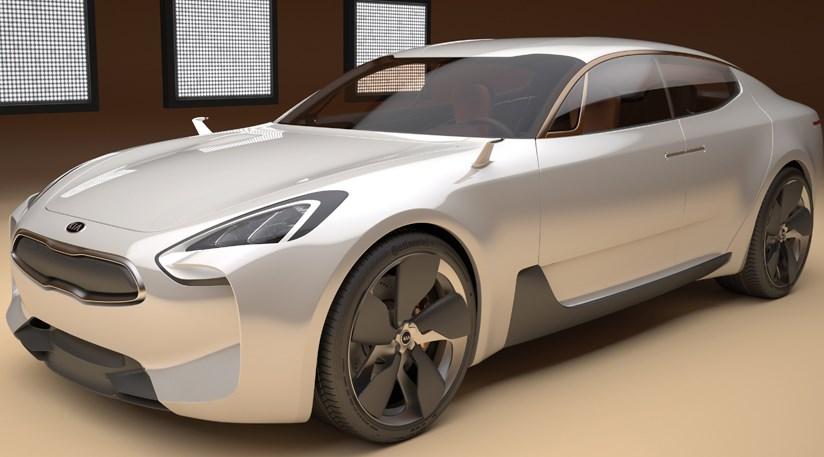 Kia GT concept 2011 at Frankfurt motor show by CAR Magazine