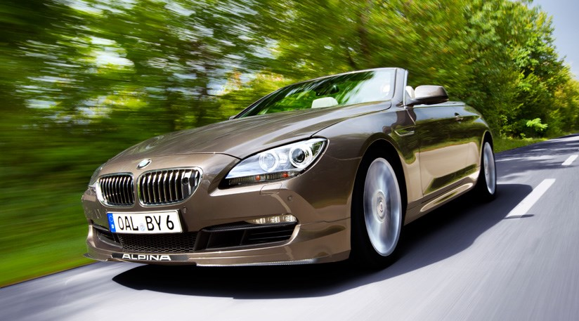 BMW Alpina B BiTurbo Convertible At The Frankfurt Motor - Bmw alpina b6 biturbo price