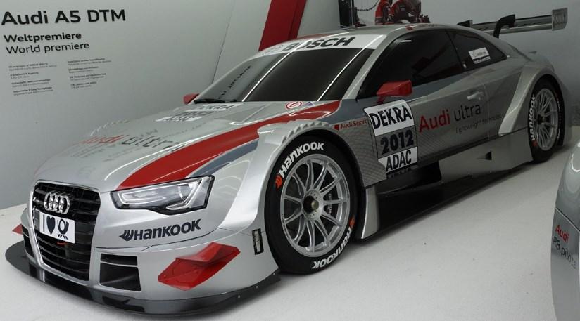 Audi A5 Dtm 2012 At Frankfurt Motor Show By Car Magazine