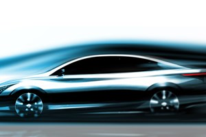Infiniti releases teaser sketch of new EV