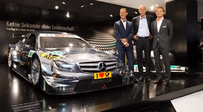 Mercedes C Class Amg Dtm 2012 At Frankfurt Motor Show