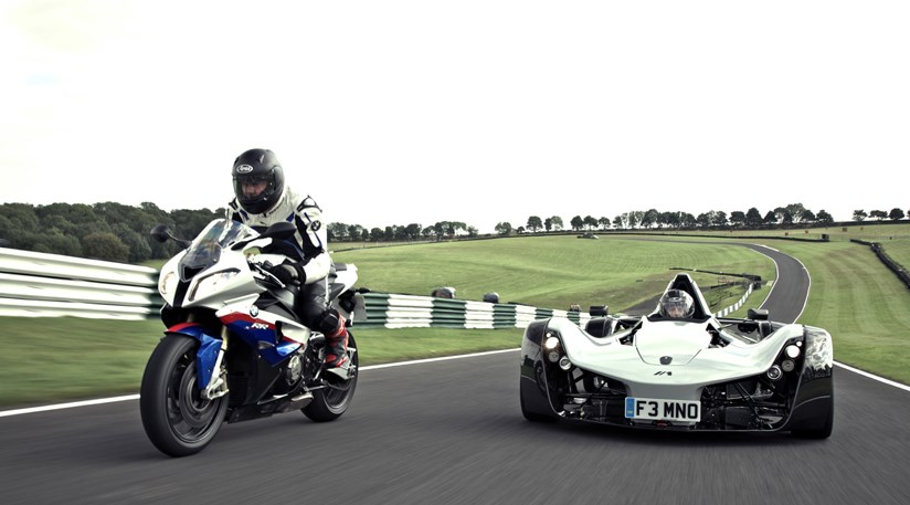 You Thought Track Cars Were Fast Riding Bmw S Superbike Car Magazine