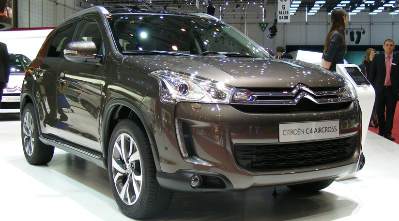 citroen c4 aircross suv 2012 first pictures by car magazine. Black Bedroom Furniture Sets. Home Design Ideas