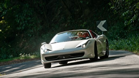 Ferrari 458 Spider 2011 Review Car Magazine