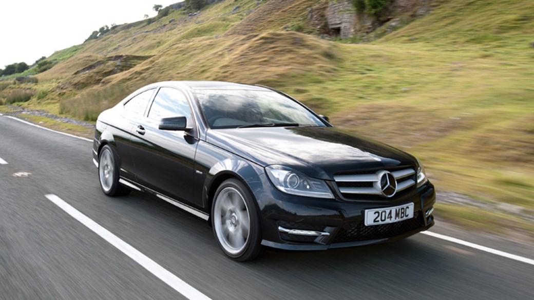 Mercedes c250 cdi coupe
